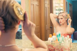 全身が写せる鏡
