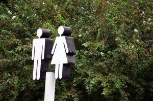 トイレの場所が分かりやすい