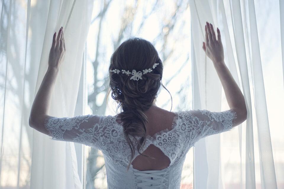 自分だけの結婚式を楽しんで