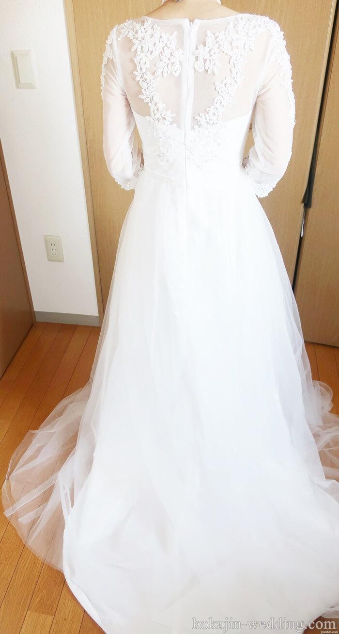 ネット通販で格安のウェディングドレスを試してみた